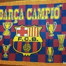 Coleccionismo deportivo: BANDERA DEL F.C.BARCELONA . Lote 70048213
