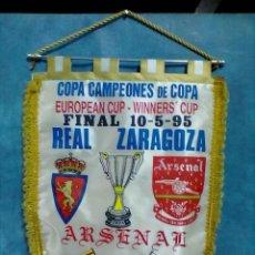 Coleccionismo deportivo: ZARAGOZA ARSENAL 10-5-95 FINAL COPA. Lote 70073661