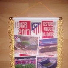 Coleccionismo deportivo: BANDERIN VICENTE CALDERÓN ATLÉTICO DE MADRID. Lote 74205509