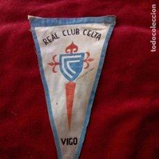 Coleccionismo deportivo: BANDERIN REAL CLUB CELTA DE VIGO AÑOS 50 60 26 CM. Lote 75287395