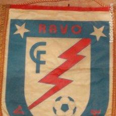 Coleccionismo deportivo: GRAN BANDERÍN DE FUTBOL DEL RAYO VALVANERA. 39CM. Lote 75985471