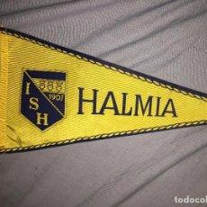 Coleccionismo deportivo: IS HALMIA, FUTBOL SUECIA, BANDERÍN, 29CM . Lote 76085723