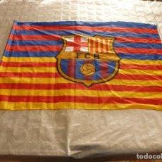 Coleccionismo deportivo: (8-3-17)!!F.C.BARCELONA 6 P.S.G. 1 !! BANDERA BARÇA REMONTADA CHAMPIONS(75CM X 50CM) . Lote 79109425