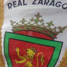 Coleccionismo deportivo: BANDERIN VINTAGE FUTBOL REAL ZARAGOZA. Lote 80572870