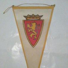 Coleccionismo deportivo: BANDERIN VINTAGE REAL ZARAGOZA, CARAMELOS KIKI. Lote 80778858