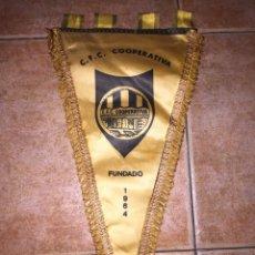 Coleccionismo deportivo: BANDERÍN CFC COOPERATIVA. Lote 82215762