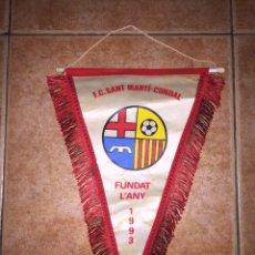 Coleccionismo deportivo: BANDERÍN FÚTBOL MARTI-CONDAL. Lote 82215954