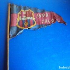 Coleccionismo deportivo: (F-170433)BANDERIN CONMEMORATIVO 50 ANIVERSARIO C.F. BARCELONA 1899-1949. Lote 82300736