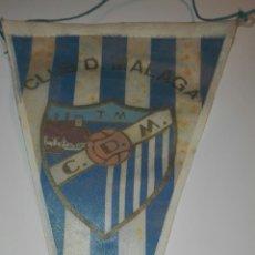 Coleccionismo deportivo: BANDERIN CLUB DEPORTIVO MALAGA. Lote 83853096