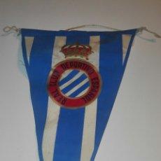 Coleccionismo deportivo: BANDERIN REAL CLUB DEPORTIVO ESPAÑOL. Lote 83854114