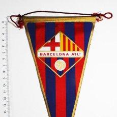 Coleccionismo deportivo: BANDERIN FUTBOL BARCELONA ATLº ATLETICO. Lote 84317712