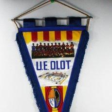 Collectionnisme sportif: BANDERIN FUTBOL U.E. OLOT. Lote 84333672