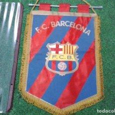 Coleccionismo deportivo: VINTAGE F. C. BARCELONA BANDERINES AÑOS 80 OFICIAL. Lote 84514752