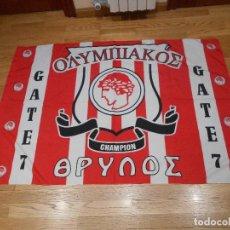 Coleccionismo deportivo: BANDERA OLIMPIAKOS GRIEGO, . Lote 85388820