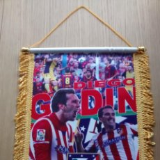 Collectionnisme sportif: BANDERIN ATLETICO DE MADRID GODIN. Lote 86396420