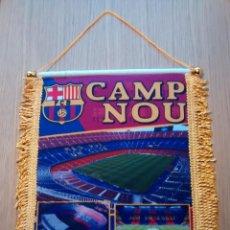 Coleccionismo deportivo: BANDERIN F.C.BARCELONA CAMP NOU. Lote 86396480