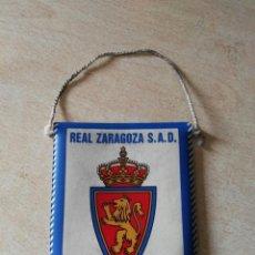 Coleccionismo deportivo: BANDERIN REAL ZARAGOZA AÑOS 90 . Lote 86007919