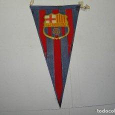 Coleccionismo deportivo: BANDERIN CLUB FUTBOL BARCELONA. Lote 89303632