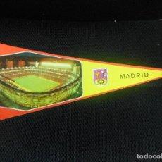 Coleccionismo deportivo: BANDERIN DE PAPEL DEL REAL MADRID ESTADIO DE FUTBOL. Lote 92433298