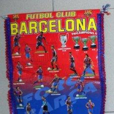Coleccionismo deportivo: BANDERIN PENNANT ANTIGUO FUTBOL FC BARCELONA LIGA 93/94 PRODUCTO OFICIAL. DREAM TEAM. CRUYFF. Lote 92468380