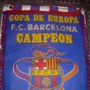 Coleccionismo deportivo: BANDERIN ..F.C. BARCELONA...CAMPEON EUROPA COPA 1.992. Lote 93757570