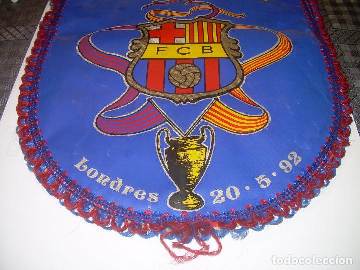 Coleccionismo deportivo: BANDERIN ..F.C. BARCELONA...CAMPEON EUROPA COPA 1.992 - Foto 3 - 93757570