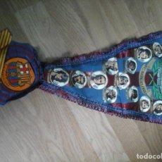 Coleccionismo deportivo: BANDERIN FC BARCELONA CON ESCARAPELA. Lote 93885025