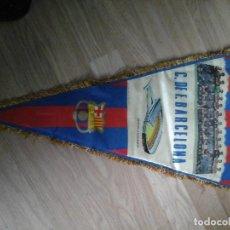 Coleccionismo deportivo: BANDERIN DEL FC BARCELONA AÑO 1972. Lote 93885970