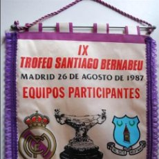 Coleccionismo deportivo: BANDERINES REAL MADRID 42X30. Lote 96943163