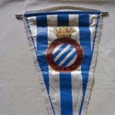 Coleccionismo deportivo: BANDERIN CLUB DE FUTBOL REAL DEPORTIVO ESPAÑOL. Lote 96988059