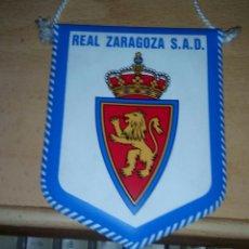 Coleccionismo deportivo: BANDERIN DEL REAL ZARAGOZA. Lote 96990312