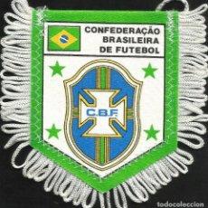Coleccionismo deportivo: ANTIGUO BANDERIN DEL CLUB DE FUTBOL C.B F CONFEDERACION BRASILEÑA DE FUTBOL . Lote 97212623