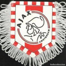 Coleccionismo deportivo: ANTIGUO BANDERIN DEL CLUB DE FUTBOL AJAX DE AMSTERDAM HOLANDA . Lote 97214467