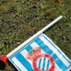 Coleccionismo deportivo: ANTIGUA BANDEROLA REAL CLUB DEPORTIVO ESPAÑOL.AÑOS 70'S-80'S. -DIFÍCIL DE ENCONTRAR.. Lote 97254079
