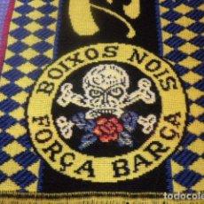 Coleccionismo deportivo: BUFANDA BOIXOS NOIS - FC BARCELONA - ULTRAS - HOOLIGANS - SUPPORTERS - BARÇA. Lote 97449623