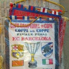 Coleccionismo deportivo: BANDERIN FINAL RECOPA 1989 BERNA. Lote 103491322