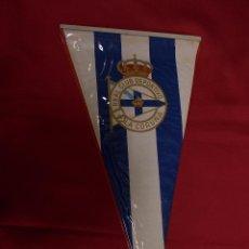 Coleccionismo deportivo: BANDERIN REAL CLUB DEPORTIVO LA CORUÑA. Lote 98693399