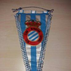 Coleccionismo deportivo: ANTIGUO BANDERÍN REAL CLUB DEPORTIVO ESPAÑOL. Lote 101756482