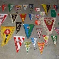 Coleccionismo deportivo: GRAN LOTE BANDERINES DE FUTBOL. Lote 102092527