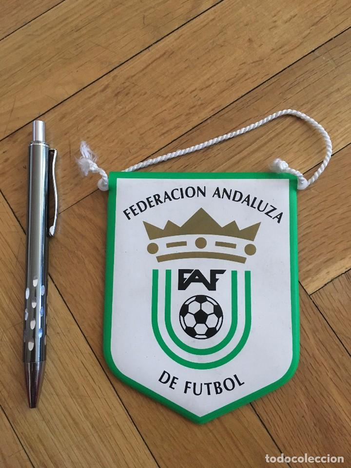 CJ BANDERIN ORIGINAL PEQUEÑO FEDERACION ANDALUZA DE FUTBOL FAF (Coleccionismo Deportivo - Banderas y Banderines de Fútbol)