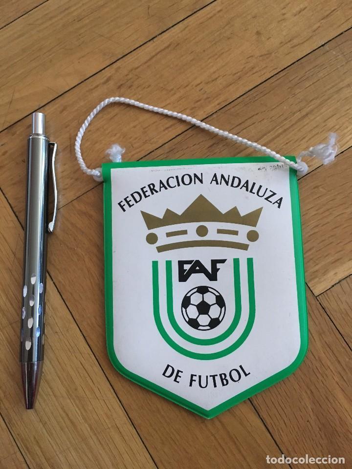 Coleccionismo deportivo: CJ BANDERIN ORIGINAL PEQUEÑO FEDERACION ANDALUZA DE FUTBOL FAF - Foto 2 - 102398723