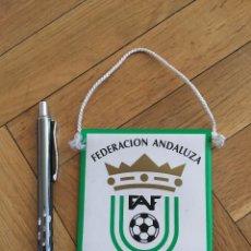 Coleccionismo deportivo: CJ BANDERIN ORIGINAL PEQUEÑO FEDERACION ANDALUZA DE FUTBOL FAF 2. Lote 102398727