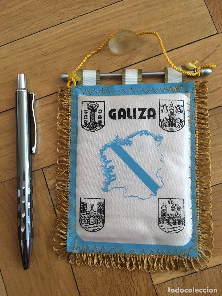 CJ BANDERIN ORIGINAL PEQUEÑO FEDERACION GALLEGA GALIZIA FUTBOL (Coleccionismo Deportivo - Banderas y Banderines de Fútbol)