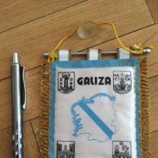 Coleccionismo deportivo: CJ BANDERIN ORIGINAL PEQUEÑO FEDERACION GALLEGA GALIZIA FUTBOL. Lote 102398943