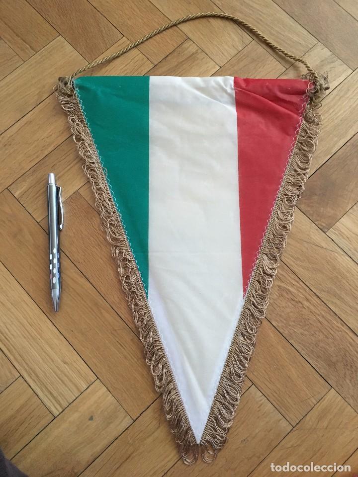 CJ BANDERIN ORIGINAL FEDERACION ITALIANA DE FUTBOL ITALIA (Coleccionismo Deportivo - Banderas y Banderines de Fútbol)