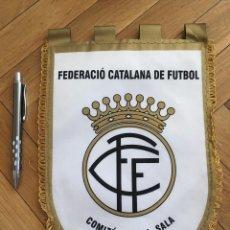 Coleccionismo deportivo: CJ BANDERIN ORIGINAL FEDERACION CATALANA DE FUTBOL COMITE FUTBOL SALA. Lote 102399587