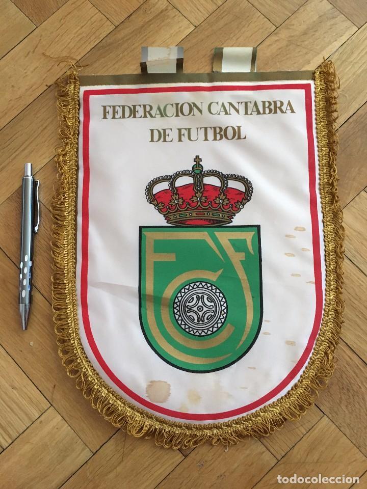 CJ BANDERIN ORIGINAL FEDERACION CANTABRA DE FUTBOL FCF (Coleccionismo Deportivo - Banderas y Banderines de Fútbol)