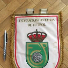 Coleccionismo deportivo: CJ BANDERIN ORIGINAL FEDERACION CANTABRA DE FUTBOL FCF. Lote 102399619