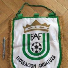Coleccionismo deportivo: CJ BANDERIN ORIGINAL FEDERACION ANDALUZA DE FUTBOL FAF. Lote 102399699