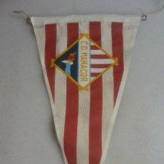 Collezionismo sportivo: BANDERIN FUTBOL C. D. MANACOR. Lote 102445623
